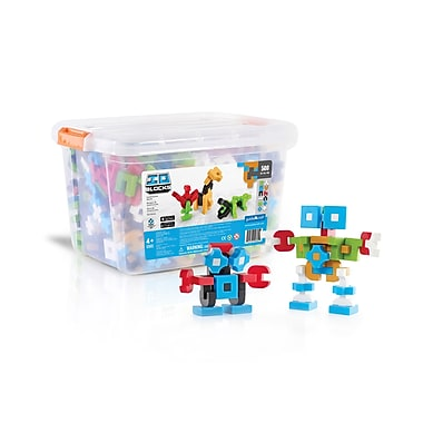 Guidecraft G9605 Io Blocks, ® 500 Piece Education Set, Various Size, Multicolour Set