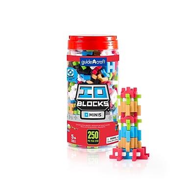 Guidecraft – IO BlocksMD miniatures G9611 de 250 pièces, différentes tailles, multicolore