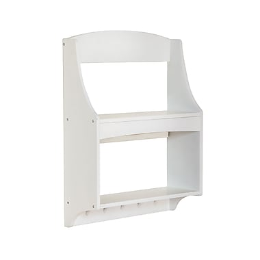 Guidecraft G87105 Expressions Trophy Rack White 19 x 6 x 24