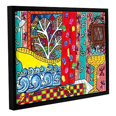 Red Barrel Studio Reflections Framed Painting Print on Wrapped Canvas; 24'' H x 32'' W