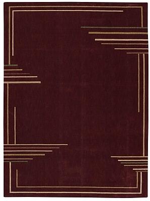 Orren Ellis Annelise Brick Area Rug; Rectangle 2' x 5'9''