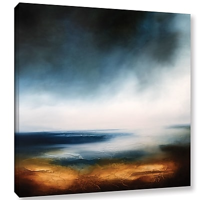 Varick Gallery Echoes of The Ocean Painting Print on Wrapped Canvas; 18'' H x 18'' W