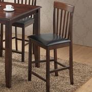 Best Quality Furniture 24.5'' Bar Stool w/ Cushion (Set of 2)