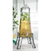 Home Essentials and Beyond Eiffel Tower Beverage Dispenser on Stand