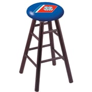 Holland Bar Stool 24'' Bar Stool w/ Cushion; Dark Cherry