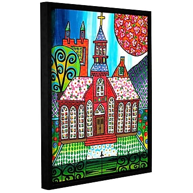 Red Barrel Studio Poor Claires Framed Painting Print on Wrapped Canvas; 32'' H x 24'' W