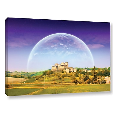 Ebern Designs 'Keys To Imagination VI' Graphic Art on Wrapped Canvas; 32'' H x 48'' W