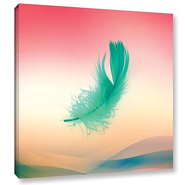 Latitude Run 'Float II' Graphic Art on Wrapped Canvas; 24'' H x 24'' W