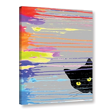 Ivy Bronx Inquisitive I Graphic Art on Wrapped Canvas; 18'' H x 14'' W