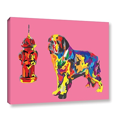 Varick Gallery Henry Graphic Art on Wrapped Canvas; 18'' H x 24'' W