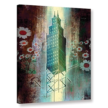 Varick Gallery 'Spring Time in The City' Graphic Art on Wrapped Canvas; 8'' H x 10'' W