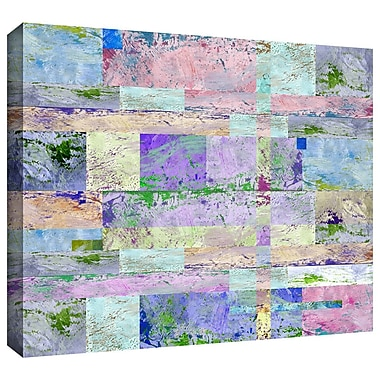 Varick Gallery Abstract I Painting Print on Wrapped Canvas; 36'' H x 48'' W