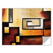Latitude Run 'Abstract Modern' Graphic Art on Wrapped Canvas; 14'' H x 18'' W