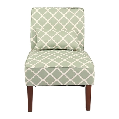 Innovex Novian Parsons Chair; Green