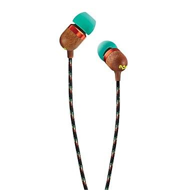 House of Marley Smile Jamaica In-Ear Headphones, Rasta (EM-JE041-RA)