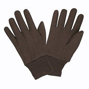 Cordova 8oz. Men's Standard Weight Jersey Gloves, Color: Brown, 12 PR, Size: Large (14001)