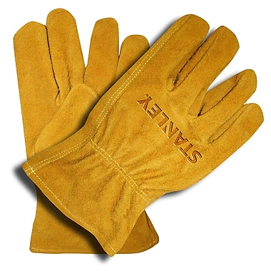 Stanley Split Cowhide Driver Gloves, Size: Extra Large (S78114)
