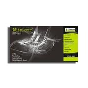 Nitri-Cor Industrial Grade Powder-Free Nitrile Disposable Gloves, Color: Blue, Size: 2XL, 1,000pcs/Case (4095XXL)