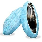 Cordova Polypropylene Non-Skid Shoe Covers, Blue, Size: Large, 400 PR/Case (SC40L)
