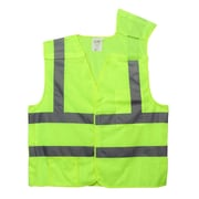 "Cordova Class II 5-Point Breakaway Vest with 2"" Reflective Tape, Color: Hi-Vis Lime, Size: Medium (VB231PM)"