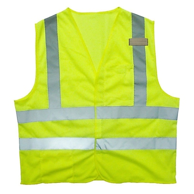Cordova Class II Flame-Resistant Safety Vest, Size: 4XL, Color: Hi-Vis Lime (V231PFR4XL)