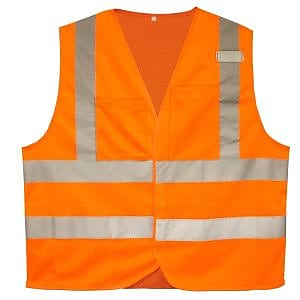 Cordova Class II Flame-Resistant Safety Vest, Size: Medium, Color: Hi-Vis Orange (V230PFRM)