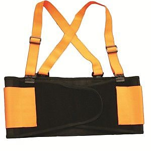 Cordova Hi-Vis Orange Back Support Belt, Size: 2XL (SB2002XL)