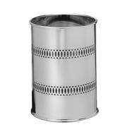 Wildon Home   Metal Trash Can; Chrome