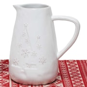 ZiaBella Snowflake and Tree Pitcher