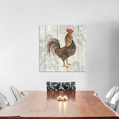 East Urban Home 'Farm Friend III' Painting Print on Wrapped Canvas; 26'' H x 26'' W x 0.75'' D