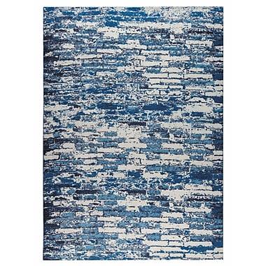 M.A. Trading Fargo Hand-Woven Blue Area Rug; 4' x 6'