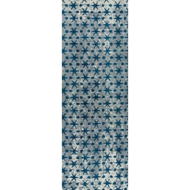M.A. Trading Modesto Hand-Woven Blue Area Rug; 8' x 10'