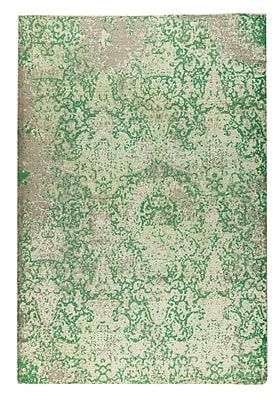 M.A. Trading Arvada Hand-Woven Green Area Rug; 8' x 10'