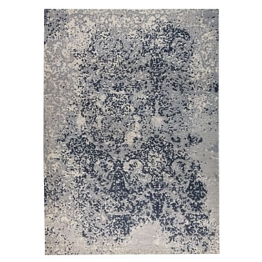 M.A. Trading Arvada Hand-Woven Gray Area Rug; 4' x 6'