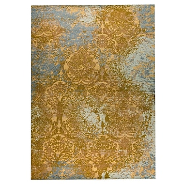 M.A. Trading Austin Hand-Woven Rust/Gray Area Rug; 8' x 10'