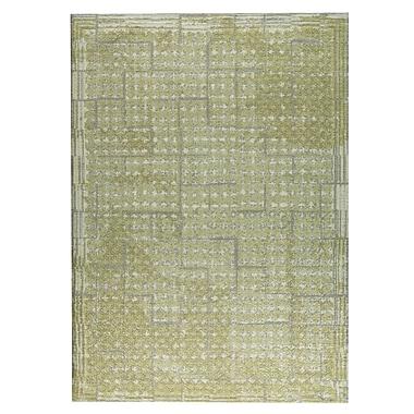 M.A. Trading Burbank Hand-Woven Green/Yellow Area Rug; 5' x 8'