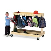 Children's Furniture Co Double Sided Teaching Cart w/ Casters