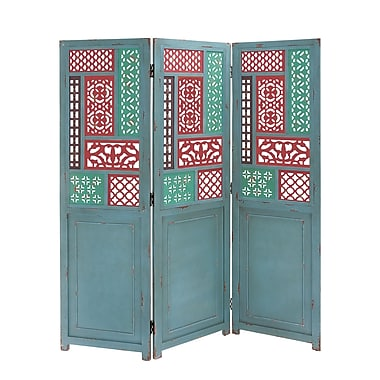 Cole & Grey 60'' x 60'' Screen 3 Room Divider (Set of 3)