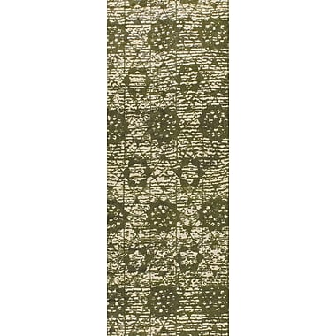 M.A. Trading Baltimore Hand-Woven Green Area Rug; 9' x 12'