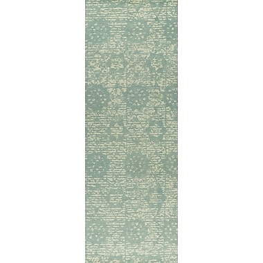 M.A. Trading Baltimore Hand-Woven Light Blue Area Rug; 5' x 8'