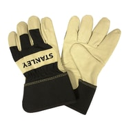 Stanley Pigskin Leather Palm Gloves, Size: Large (S87921)