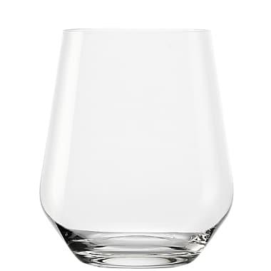 Oberglas Passion – Verre à Wisky en cristal sans plomb, 13 oz, 4/pqt