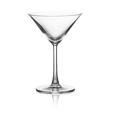 Lucaris SIP – Verre à martini en cristal sans plomb, 8 oz, 6/pqt