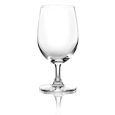 Lucaris Socialize – Verre à eau en cristal sans plomb, 13,25 oz, 6/pqt