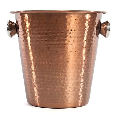 Bel-Air – Seau à champagne, fini cuivre martelé