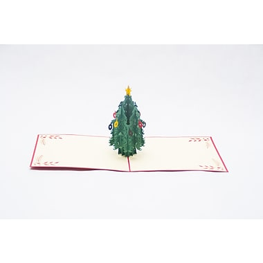 PopJoy Pop Up Card, MiniTree, 3D Greeting Card, 5/Pack