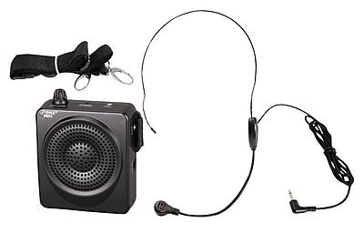 Pyle® PWMA50B 50 W Portable, Waist-Band Portable Public Address System