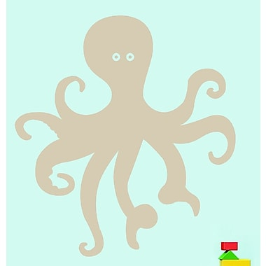 SweetumsWallDecals Octopus Wall Decal; Beige