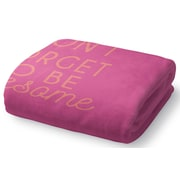 Brayden Studio Brooklyn Fleece Throw Blanket; 90'' W x 90'' L