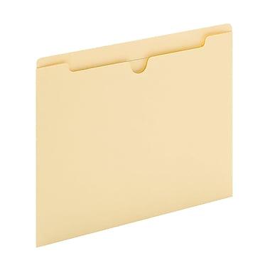 Staples Letter Size File Jacket, Flat, Reinforced, Manila (30110DT25)